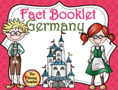 This fact booklet on Germany is a great resource to use for a research project on countries around the world/Europe with your pre-k/kindergarten class.Included in this product is a black and white informational book about Germany that can be used for independent reading as well as for guided reading groups.