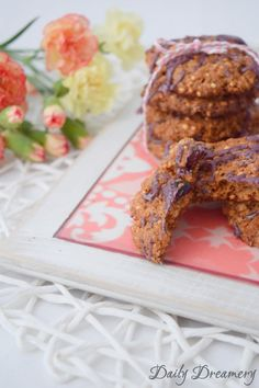 Dinkelvollkorn keks mit Quinoa und Cranberries
