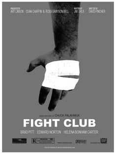 Fight Club is not only a mystery movie, but also a must watch movie for young generation. And here we are with must downoad Fight Club Poster collection. Fight Club Brad Pitt, Fight Club 1999, Fight Club Rules, Marla Singer, Drawing Machine, Club Poster, Chuck Palahniuk, David Fincher, This Is Your Life