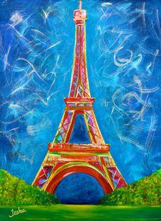 Yo conozco a Aviela. Ella le gusta y es muy artística! Aviela dibuja el Eiffel Tower para una escuela proyecto el dibujo estuvo muy grande!