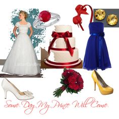 """Snow White_Wedding"" by utahsoccergirl6 on Polyvore"