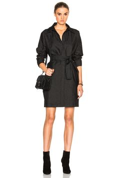 Image 1 of Norma Kamali Midi Box Dress in Black