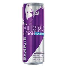 Red Bull 9637422 12 oz The Purple Edition Acai Berry Energy Drink Can - pack of 24 - Gourmet Red Bull Drinks, Snack Items, Acai Berry, Yummy Snacks, Sugar Free, Berries, Packing, Purple, Health