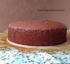 Chocolate Cheesecake Recipes, Cooking Recipes, Sweets, Baking, Bakeries, Food, Birthday Cakes, Handmade, Birthday