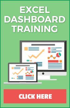 Online Excel Dashboard Training