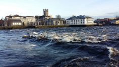 The mighty River Shannon in full flow.