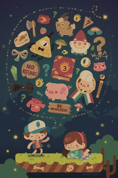 Gravity Falls Fanart on Behance