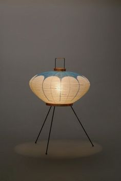 Akari Light Sculpture, FIRST Series, Model No. 9AD, Ozeki Lantern Co. Isamu Noguchi.
