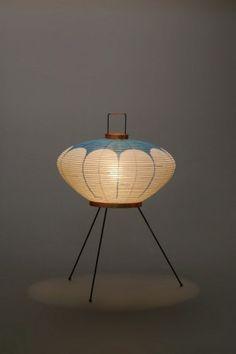 Akari Light Sculpture, FIRST Series, Model No. 9AD, Ozeki Lantern Co. Isamu Noguchi.