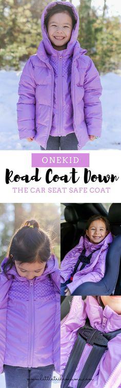 7085ce501004 Onekid Road Coat Down - the warmest and coziest Road Coat yet! Car Seat ...