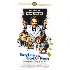 Every Little Crook and Nanny (1972) Funny flick with fun cast finally get's it's deserved release... now what about the other Victor Mature titles I've saved that still have not found their way to an 'official' release... we're talking veteran great Victor Mature for goodness sake!!