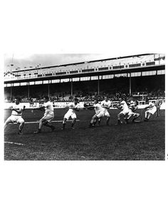 #USA men tug of war team,1908 #olympics london