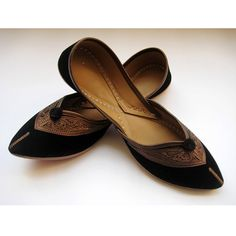 Black Flats/Ethnic Shoes/Velvet Shoes/Copper Shoes/Handmade Indian Designer Women Shoes or Slippers/Maharaja Style Women Jooties