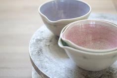 Daisy Mini Pouring Bowl by PennySpoonerCeramics on Etsy, $24.50