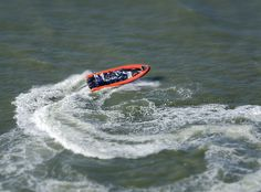 Coastal Voyager rigid inflatable boat - aerial image   by John D F