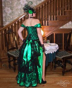 Arsenic and Lace Masquerade Ball Gown