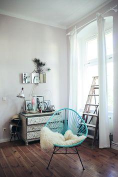 Live, Love and Design: Kirsten Marie Inc., Interior Design: acapulco chair