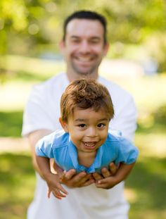 This is such a good picture of a Dad and his son! @Brenda Cordova