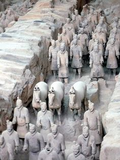 Pottery Warriors, Xian