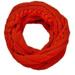 Cable Knit Infinity Scarf - love this color!