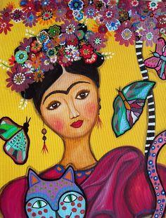 Frida, imaginada