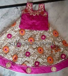 Net Embroidered Lehenga - Indian Dresses