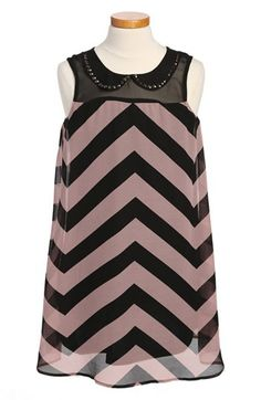 Fire Peter Pan Collar Dress (Big Girls) available at #Nordstrom