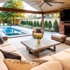 If you are looking for Pool Outdoor Kitchen, You come to the right place. Here are the Pool Outdoor Kitchen. This post about Pool Outdoor Kitchen was posted under the. Backyard Pool Landscaping, Backyard Pool Designs, Patio Ideas With Pool, Pool And Patio, Lanai Ideas, Pool Porch, Pool Lounge, Diy Pool, Swimming Pools Backyard