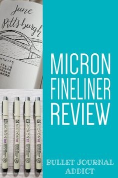 When looking for a good set of pens to use in your bullet journal. The Micron fineliner pens are the best pens for bullet journals. Best Bullet Journal Pens, Bullet Journal Themes, Bullet Journal Inspiration, Journal Ideas, Journal Fonts, Journaling, Small Calendar, Easy Doodles, Outing Quotes