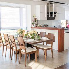 Nádherná buková jídelní židle RIMINI pro stylový interiér s vůní bukového masivu. Dining Table, Furniture, Home Decor, Decoration Home, Room Decor, Dinner Table, Home Furnishings, Dining Room Table, Home Interior Design