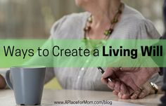 Ways to Create a Living Will