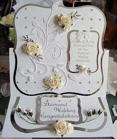 kyms kreations: Diamond Wedding Card
