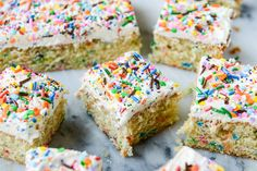 I have never been above using boxed cake mix, and there is one good reason. It starts with an F and ends in -unfetti. FUNFETTI! Or confetti or rainbow sprinkle or all the love mixed into one little...