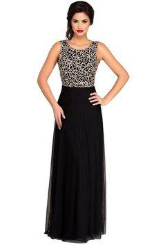 0928078b9df Elegant Vestidos Embroidery Dresses Vestido De Festa Amazing Gold Lace  Overlay Slit Maxi Evening Gown