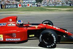 Gianni Morbidelli (ITA) (Scuderia Ferrari), Ferrari 643 - Ferrari Tipo 037, 3.5…