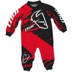 Thor Motocross Infant Pajamas - 0-6 Months/Red by Thor. $30.45. Thor Motocross Infant Pajamas Constructed of brushed polyesterspandex for comfort and softness with race inspired graphics