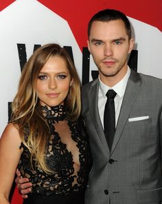 Nicholas Hoult and Teresa Palmer at event of Warm Bodies