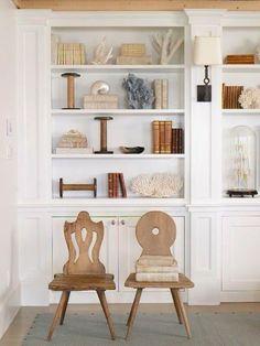 add bobbins to the bookcase?