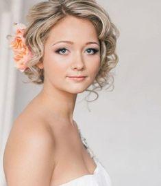 Coiffure mariage cheveux courts - http://lookvisage.ru/coiffure-mariage-cheveux-courts/ #Cheveux #Beauté #tendances #conseils