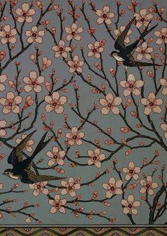 Walter Crane (1845-1915). Art Nouveau Works