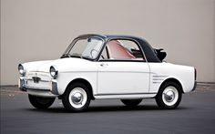 Autobianchi Bianchina Trasformabile 1961.