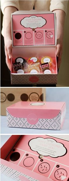Cupcake packaging: