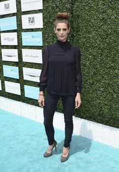 Ashley Greene at Super Saturday LA.