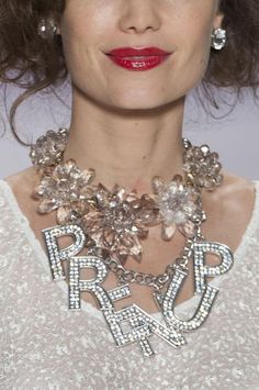 Betsey Johnson Details S/S '15 OMG how amazing is Betsey Johnson. How blissfully tacky!