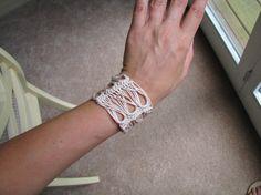 #Crochet #Tutorial on Broomstick Crochet Bracelets from Craftsy Blog.