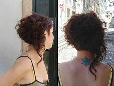 new curly hair cut by wip-hairport, via Flickr ... well now thats different and fun for the curly girls!