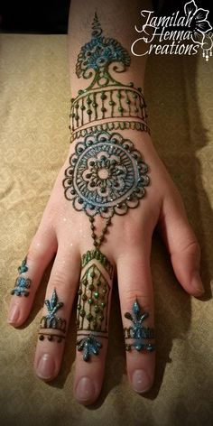mandala party henna www.jamilahhennacreations.com