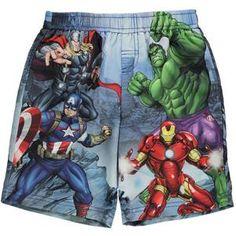 f48a953993b7 Kids Marvel Avengers Clothing UK  Marvel Avengers Swim Shorts –  noveltycharacter