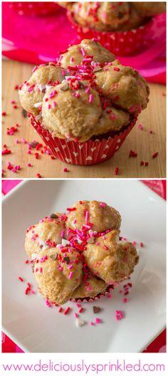 Sprinkle Monkey Bread Muffins