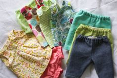 Doll clothes with suggestions for commercial patterns - Cabbage Patch Preemie?
